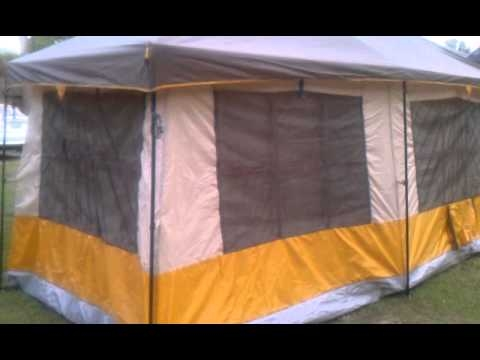 ozark trail 16x16 youtube 3Room Cottage Cabin Tent
