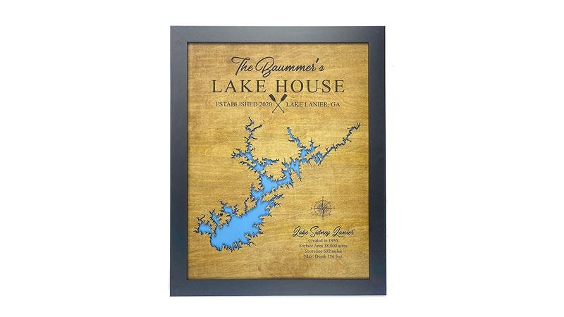 personalized gifts for cabins Lake Cabin Gift Ideas