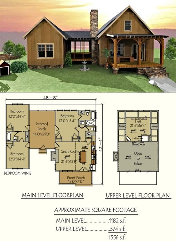 pin on future cabin Cabin And Cottage Plans