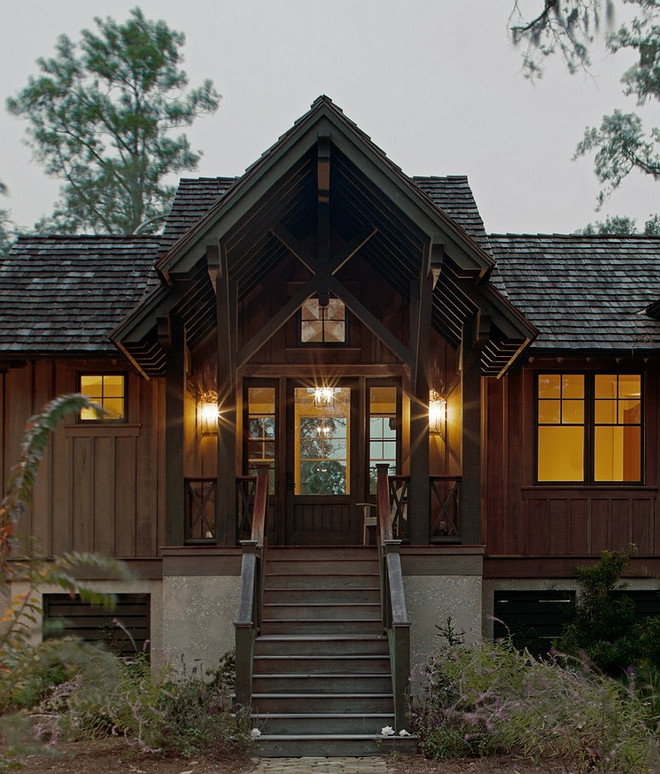 rustic cottage with neutral interiors home bunch interior Cabin Cottage Design Ideas