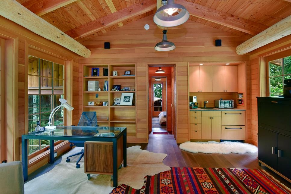 rustic redefined the best of modern cabin style hgtv Cabin Cottage Decor
