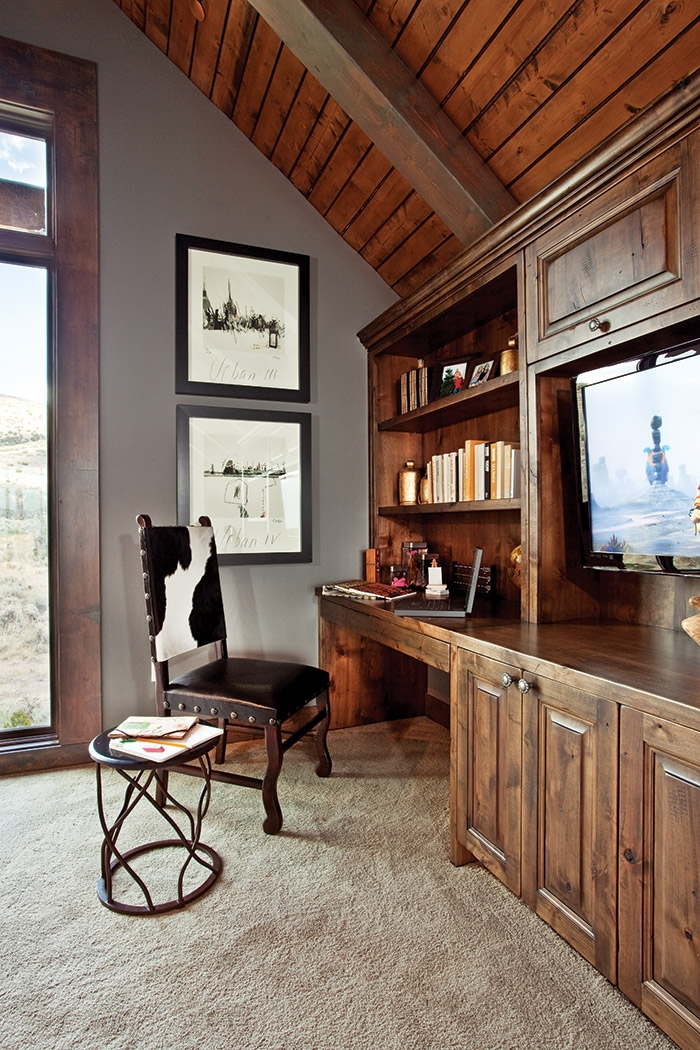 rustic yet elegant cabin decor the cottage journal Cabin And Cottage Decor
