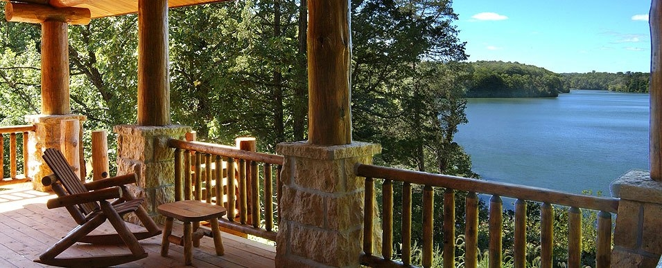 scenic hideaways presents the galena lake house and the Lake Cabin Rentals Illinois
