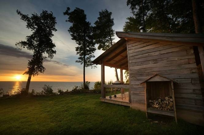 see the 11 most popular airbnb listings in michigan mlive Lake Cabin Airbnb