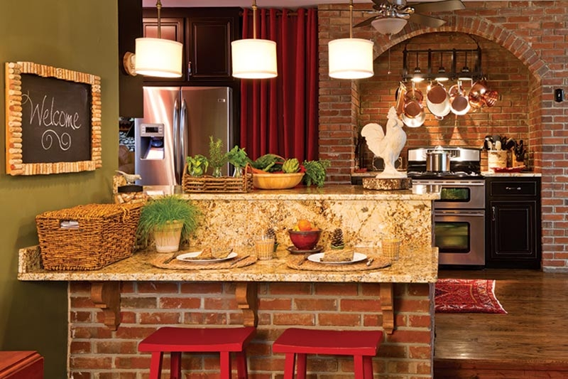 see this cabin kitchen with rustic charm cottage journal Cottage Cabin Kitchens