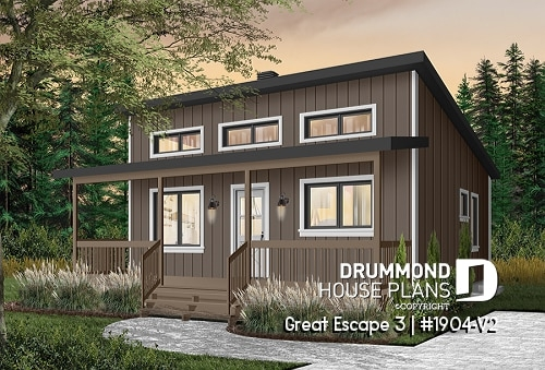 simple vacation house plans small cabin plans lake or mountain Cabin And Cottage Plans