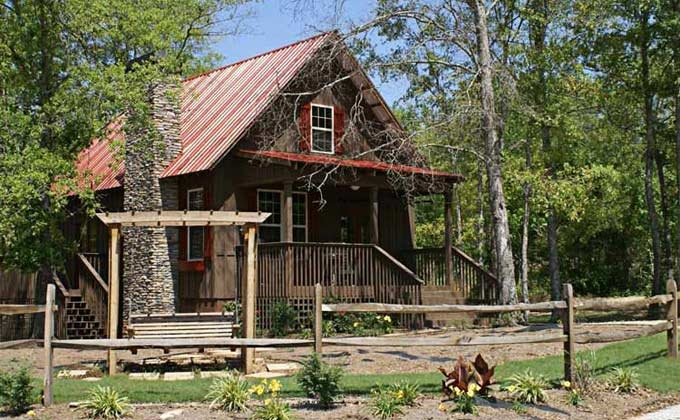 small cabin plan with loft small cabin house plans Cabin And Cottage Plans