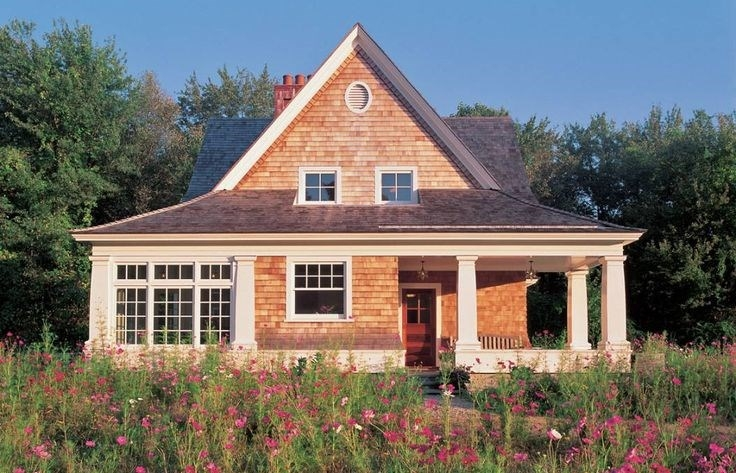 small cottage house plans small in size big on charm Cottage Cabin Ideas