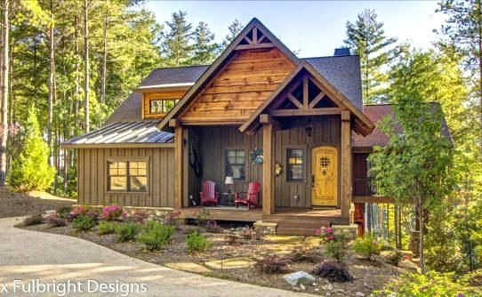 small lake house plans with screened porch blowing rock Small Lake Cabin Ideas