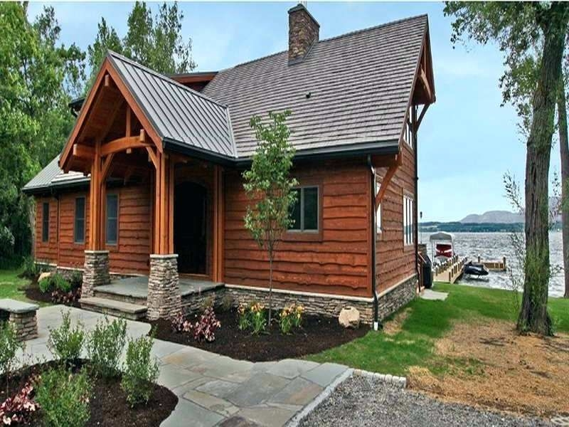 small lake house plans with screened porch small lakefront Small Lake Cabin Ideas