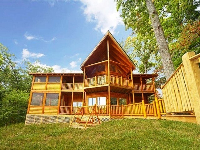 smoky mountain chalet smoky mountain cabins alpine Cabin Cottage Definition