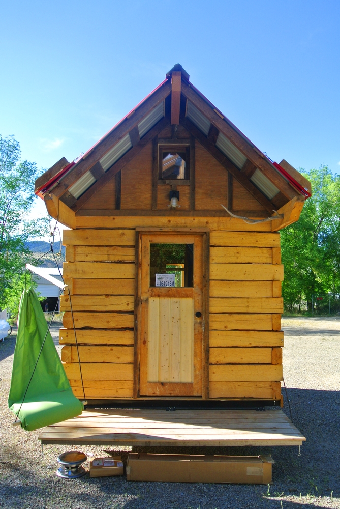 stanley log cabin tiny house rocky mountain tiny houses Tiny House Log Cabin Floor Plans