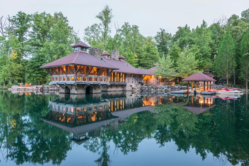 tennessee lake house jlf architects appears to be Lake Cabin Tennessee