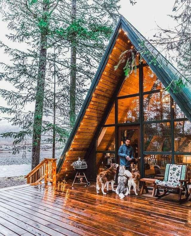 that cabin life aesthetic cabin life cabins in the woods Cabin Cottage Aesthetic