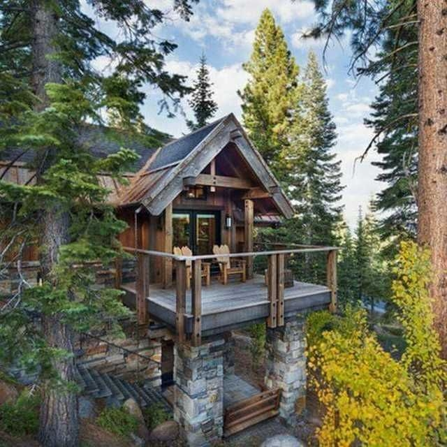 that cabin life aesthetic imgur log homes rustic house Cabin Cottage Aesthetic