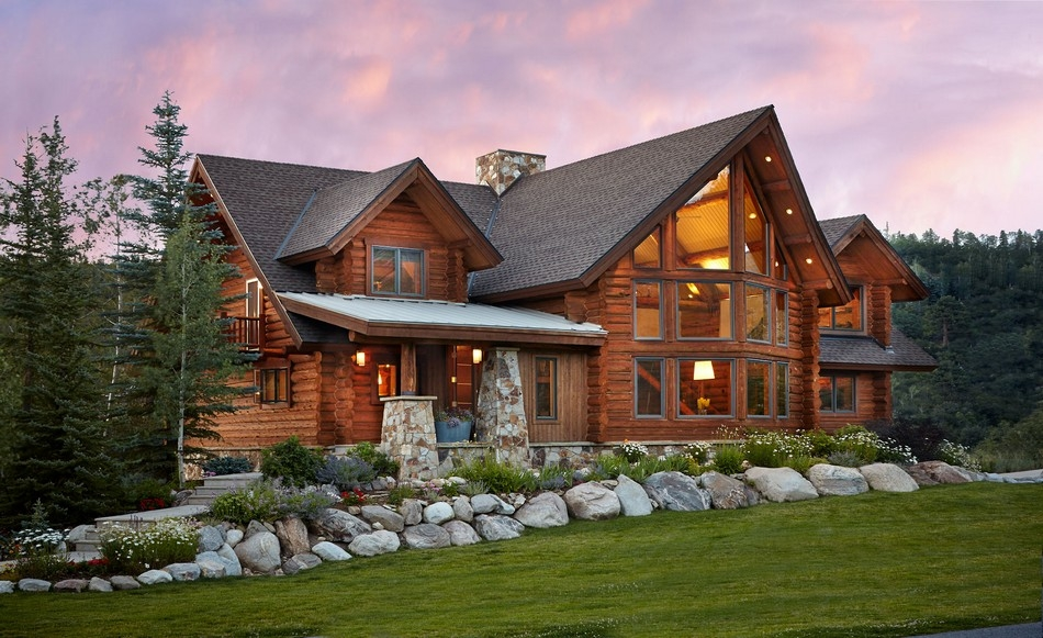 the characteristics that define a log home Cabin Cottage Definition