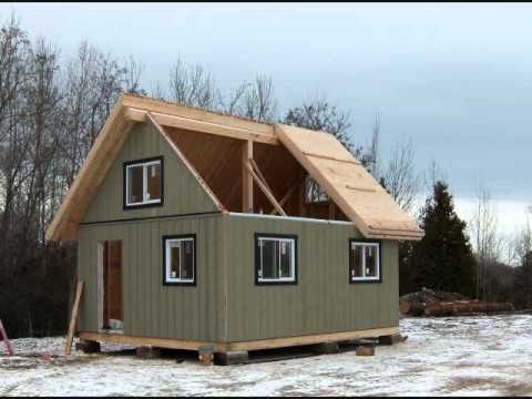 the collingwood cabin 480 sq ft youtube Cabin Cottage Collingwood