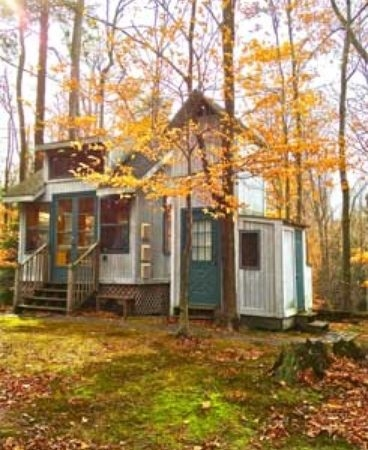 tiny cabin just steps from lake michigan Cabin Cottage For Sale Michigan
