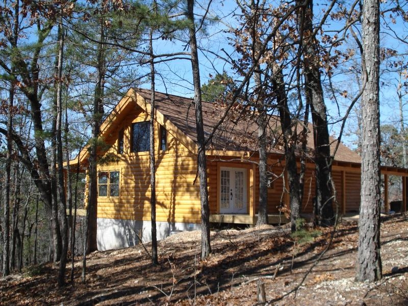 vacation log cabin rentaltable rock lake cabinsecluded Lake Cabin Branson Mo