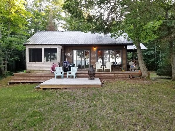 waterfront michigan waterfront homes for sale 1522 Cabin Cottage For Sale Michigan