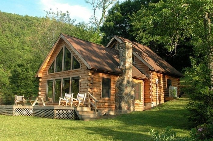welcome to harmans luxury log cabins in west virginia Cabin Cottage Outdoor