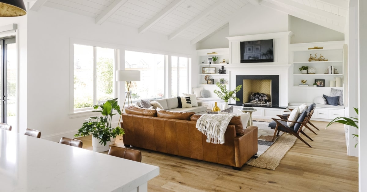 west elm just launched stylish backgrounds for zoom video Lake House Zoom Background