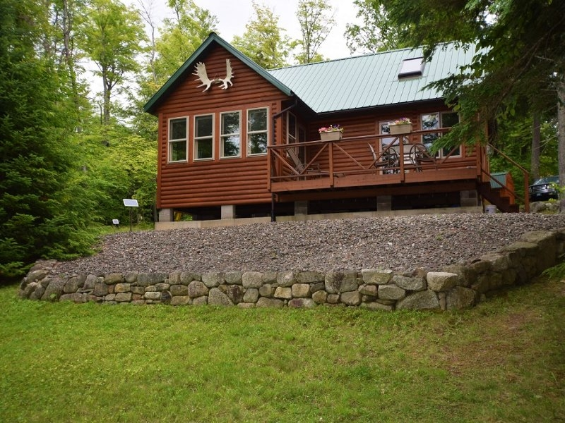 west grand lake log cabin land for sale in grand lake Lake Cabin In Maine For Sale