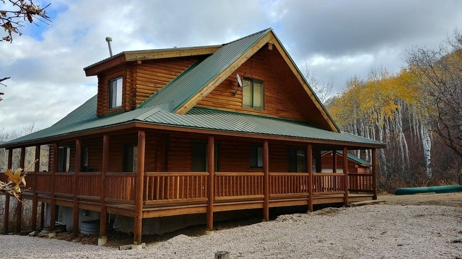 whats the difference between a cabin and a house outdoor Cabin Cottage Outdoor
