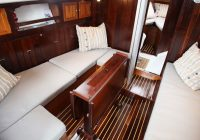 10 best sailboats to live in life of sailing Beautiful Wood Sailboat Cabins