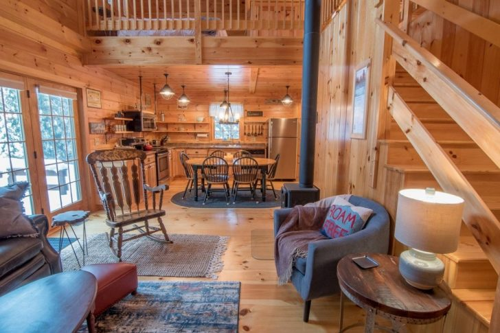 Permalink to Simple Cabin In New Hampshire Gallery