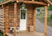 10 diy log cabins learn to build your own for a rustic Small Log Cabin