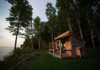 11 waterfront michigan cabins to book now for the best Michigan Camping Cabins
