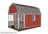 12×20 small cabin plans diy hunting shack myoutdoorplans 12 By 20 Cabin