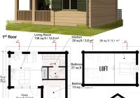 13 best small cabin plans with cost to build craft mart Small Cabin Floor Plans