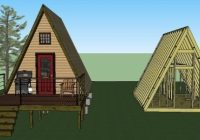 14×14 tiny a frame cabin plans lamar alexander A Frame Cabins To Build