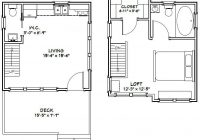 16×16 cabin 16×16 house 16x16h7 523 sq ft 16 X 16 Cabin Plans