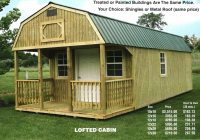 16×40 deluxe lofted barn cabin floor plans simple house 16×40 Deluxe Lofted Barn Cabin