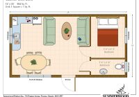 18 luxury 10×20 tiny house floor plans Small Cabin Plans With Loft 10 X 20