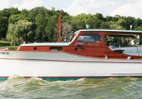 1936 chris craft 28 wooden cabin cruiser for sale Lake Cabin Cruiser