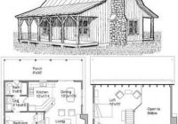 2 bedroom cabin plans with loft google search one room Small 2 Floor Cabin