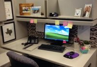 20 creative diy cubicle decorating ideas hative Office Cabin Decorating Ideas