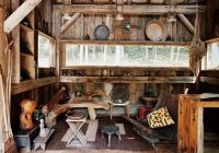 20 exquisitely charming rustic cabins off grid world Small Off Grid Cabin Interior