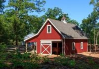 20 x 32 newport horse barn with lean to overhang horse 20 X 32 Cabin With Loft