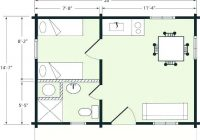 2021 house plans ozdenudoco 20 X 20 Cabin Plans