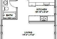 20×32 house 20x32h2d 640 sq ft excellent floor Cabin Plans 20×32