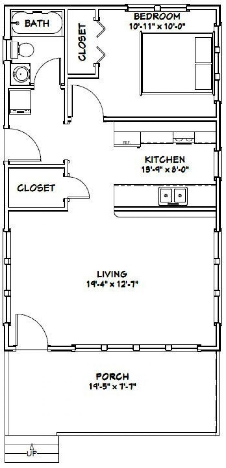 Permalink to Cozy Cabin Plans 20×32 Ideas
