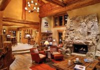 21 rustic log cabin interior design ideas Small Cabin Interior Ideas