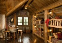 21 rustic log cabin interior design ideas style motivation Small Cabin Interiors