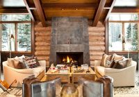 22 luxurious log cabin interiors you have to see log cabin hub Modern Contemporary Cabin Interior