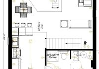 24×24 main floor plan floor plans how to plan flooring 24×24 Cabin Plans